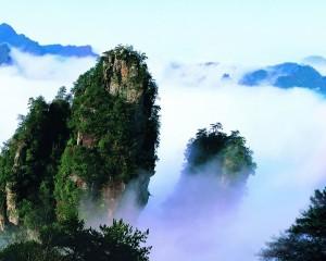 绝美的黄石寨景区