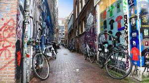 街頭涂鴉墻手繪藝術立體涂鴉圖片高清桌面壁紙