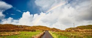 爱尔兰彩虹风景