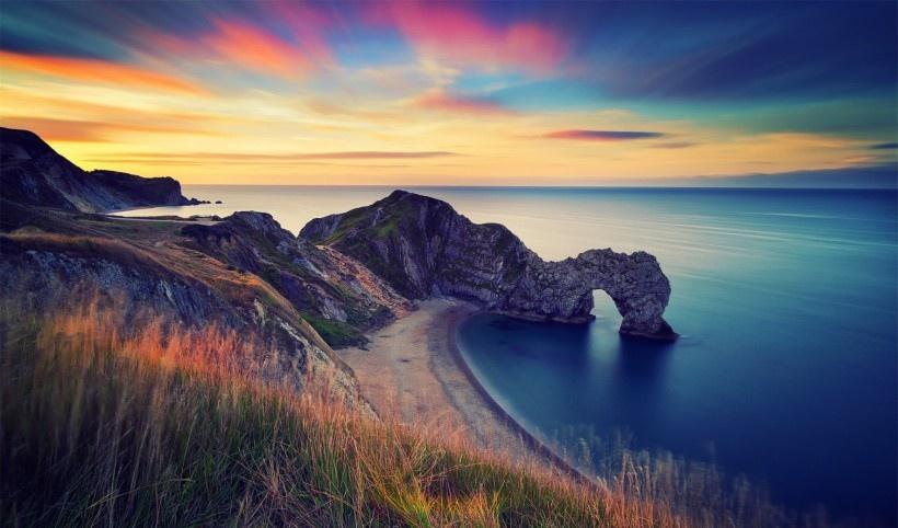 侏罗纪海岸杜德尔门图片
