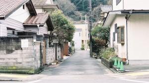 日本街道胶片风街景桌面壁纸