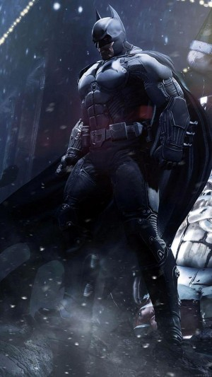 蝙蝠侠:黑暗骑士崛起手绘插画手机壁纸