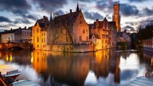 城市璀璨夜景圖片電腦壁紙