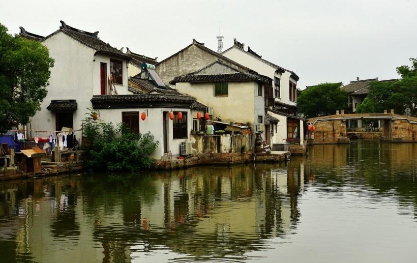江苏苏州同里古镇风景写真