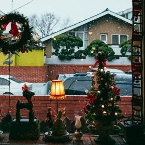 温馨的圣诞节氛围图片