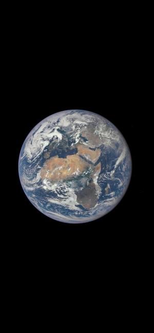 地球全貌宇宙攝影簡約高清手機壁紙