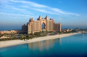 阿联酋城市酒店风光高清图片