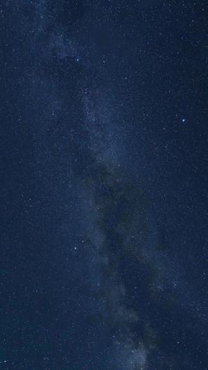 繁星满天迷人夜空摄影
