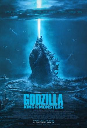 科幻电影《哥斯拉2:怪兽之王》定档海报
