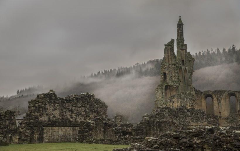 英国拜兰修道院风景图片