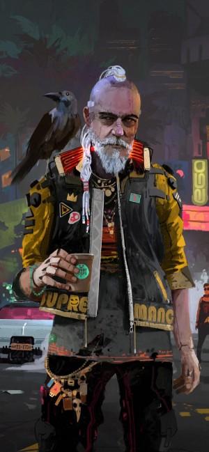 赛博朋克2077酷炫游戏高清手机壁纸