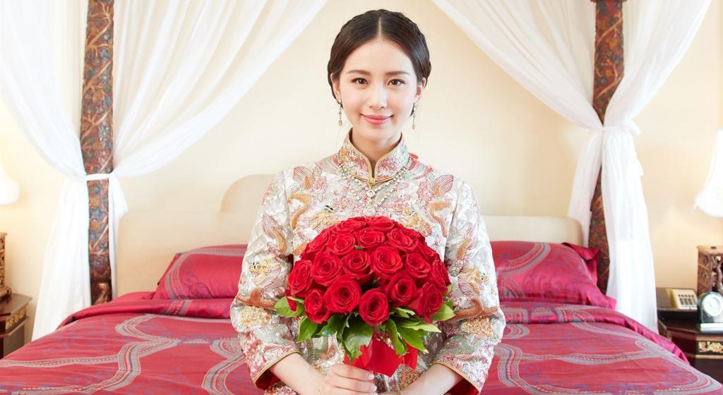 刘诗诗吴奇隆婚礼花絮照写真