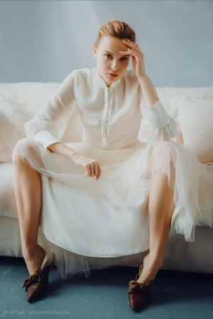 欧美小仙女观念摄影照片