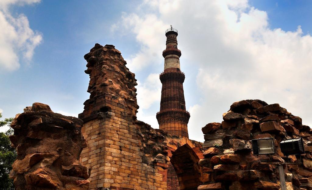 印度库特卜塔遗址图片