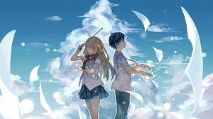 情侣二次元浪漫图片壁纸