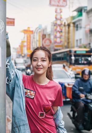 米露休闲时尚街拍图片