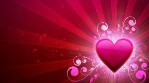 520表白日粉红色的心