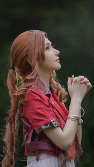 最终幻想爱丽丝神级cosplay气质写真