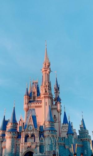 上海梦幻迪士尼风光