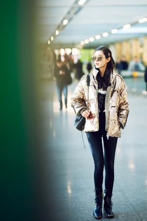 宋轶时尚气质养眼私服街拍图片