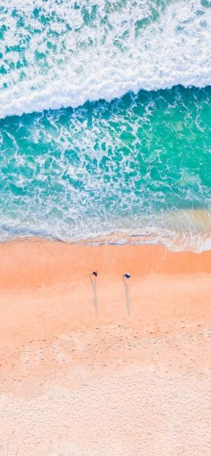 大海全面屏高清手机壁纸
