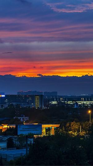 唯美黄昏美丽自然风光图片壁纸