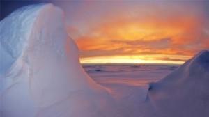 极地冰原超美高清桌面壁纸