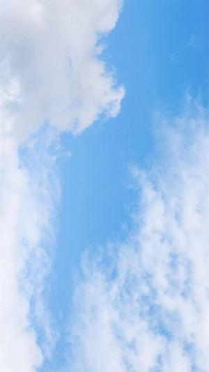 蓝天白云晴空万里高清手机壁纸