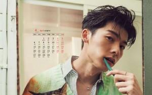 2020年4月许光汉型男写真日历壁纸