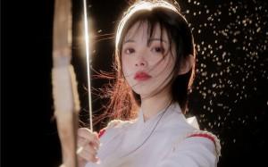 日系和服弓道清纯少女高清桌面壁纸
