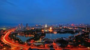 晚安福建城市美景