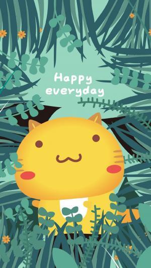 哈咪猫愿你快乐每一天
