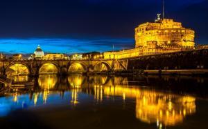 意大利罗马夜景壁纸