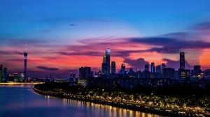 广州唯美城市夜景壁纸图片