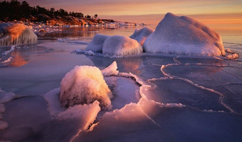 冬日绝美雪景