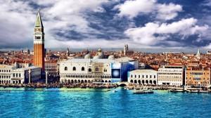 浪漫之都意大利著名威尼斯水城