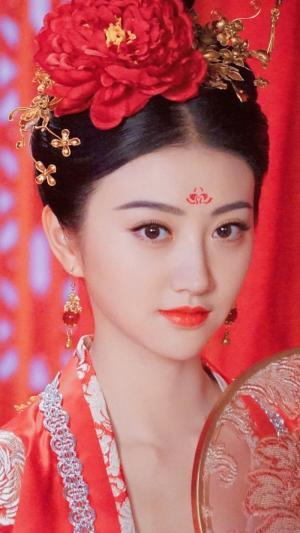 大唐荣耀沈珍珠景甜唯美古装图片