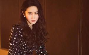 刘亦菲高冷时尚气质图片壁纸
