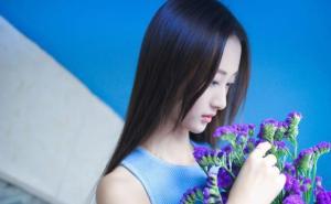 演员清纯美女马泽涵纯净写真图