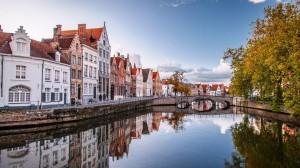 比利时布鲁日璀璨美景高清桌面壁纸