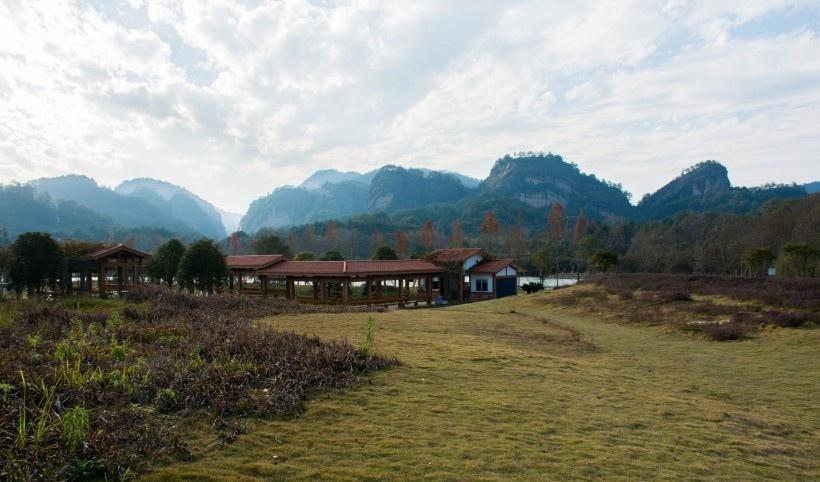 福建武夷山九龙湾度假酒店风景
