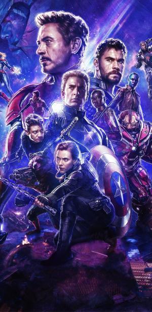《复仇者联盟4:终局之战》超级英雄海报