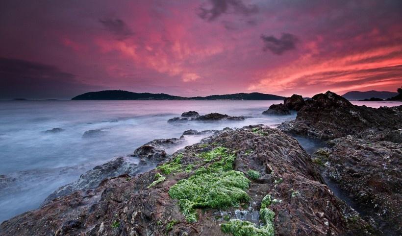 法国里维埃拉海岸风景写真