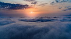 蓝天白云图片高清唯美,大自然最美的风景!