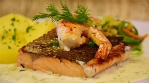 美味大虾高清桌面壁纸