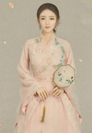 安以轩化身古典美人身姿优雅气质高贵中国风写真图片