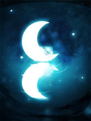 唯美意境晚安插图