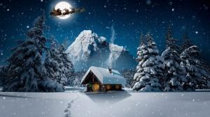 圣诞节梦幻图片桌面壁纸