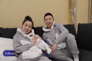 GAI夫妇《新生2》兔子睡衣可爱甜蜜节目图片