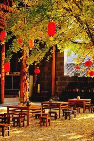 云南腾冲村落风景图片